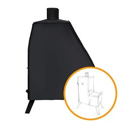 i COVER Smoker Cover-Sized for Dyna-Glo DGO1176BDC-D Vertical Offset Charcoal Smoker, Heavy Duty ...