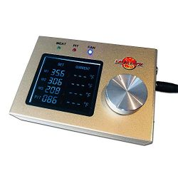 LavaLockⓇ 4-Probe Automatic BBQ Controller w/ 50 cfm Variable Speed Fan for sm, med, Large pits, ...