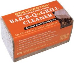 US Pumice BQ-12 Bar-B-Q Cleaner 100% Natural Pumice Stone, GrillBrick for Grill Cleaning, Medium ...