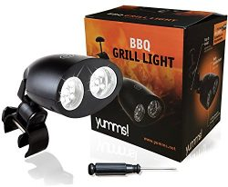 Yumms! Best Barbecue Grill Light for BBQ Grilling with Video Reviews