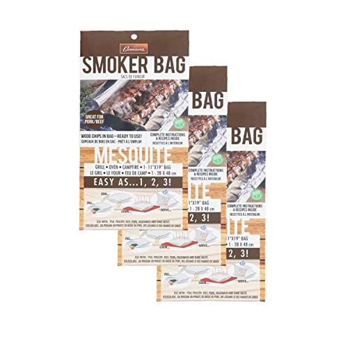 Camerons Smoker Bags – Set of 3 Mesquite Smoking Bags for Indoor or Outdoor Use – Ea ...