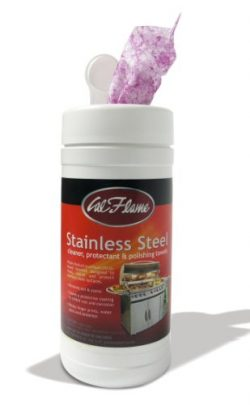 Cal Flame BBQ25000386 Stainless Steel Cleaner and Polish Towels for Grill