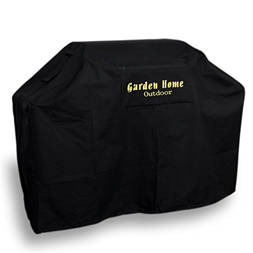 Garden Home outdoor Heavy Duty Grill Cover, 70″ L, Black