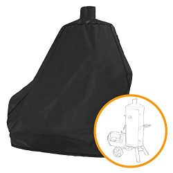 i COVER Smoker Grill Cover-Sized for Dyna-Glo Vertical Offset Smoker Grill DGSS1382VCS-D DGSS138 ...
