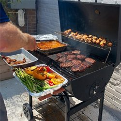 75 inch Long Roll Non Stick BBQ Grilling Mat | Cut to Any Size Liner | PFOA and BPA-Free | Heavy ...