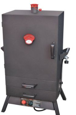 Landmann USA 3895GWLA Smoky Mountain Vertical Gas Smoker, 38-Inch