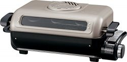 Zojirushi America EF-VPC40 Fish Roaster, Metallic Gray