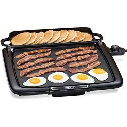 Electric Griddle Pan/Warmer Plus Presto Cool-touch. Grill Combo 14×15-inch Nonstick Cooking ...