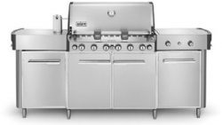 291001 Summit Stainless Steel Grill Center LP