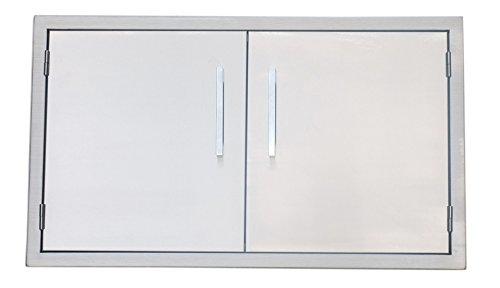Sunstone BA-DD36 Beveled Frame Double Access Door, 36″