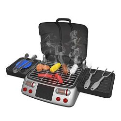 Pickwoo Kids BBQ Grill Pretend Playset,Kitchen Pretend Play Toys, Play Food, Outdoor Cooking Set ...