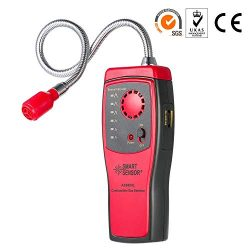 SGILE Gas Detector, Portable Natural Propane Leak Detector Sensor, Combustible Gas Sniffer with  ...