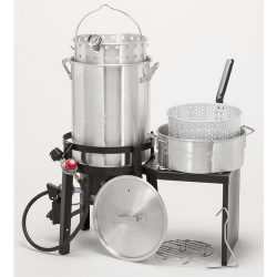 Outdoor Gourmet Deluxe Turkey Fryer Kit