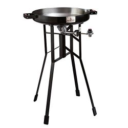 FireDisc – Deep 36″ Backyard Plow Disc Cooker – Jet Black | Portable Propane O ...