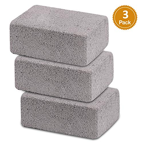Ajmyonsp 3Pack Grill Cleaning Brick Block Brick-A Magic Stone Pumice Griddle Grilling Cleaner Ac ...