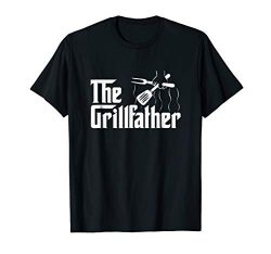 The Grillfather BBQ Grill & Smoker | Barbecue  Chef T-Shirt