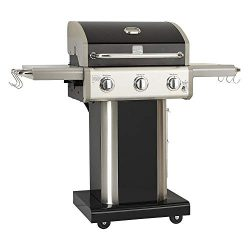 Kenmore 3 Burner Outdoor Patio Gas BBQ Propane Grill in, Black