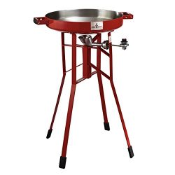 FireDisc – Deep 36″ Backyard Portable Plow Disc Cooker – Fireman Red | Portabl ...