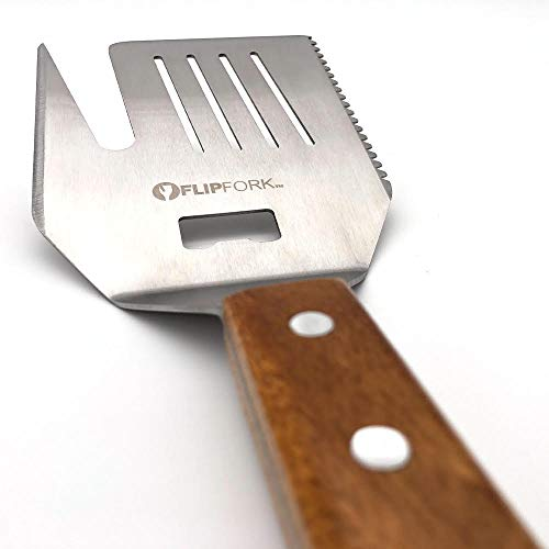 FLIPFORK Grill Spatula Fork Perfect Grill Gifts for Men BBQ Spatula Accessory for Grilling Grill ...