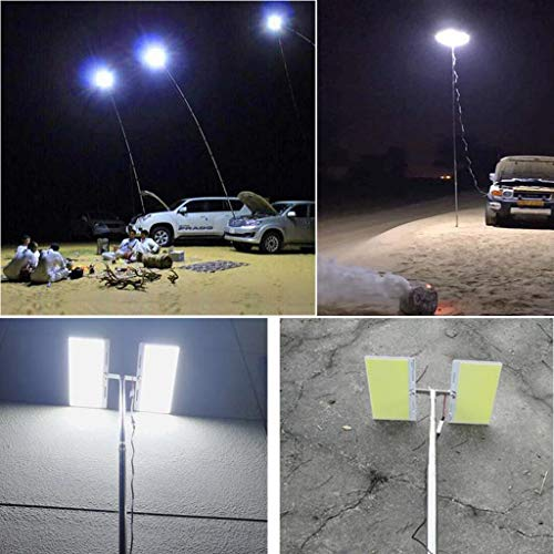 BBTshop Outdoor Grill Lighting Camping Light,Telescopic COB Rod LED Fishing Outdoor Camping Lant ...