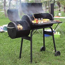 BBQ Grill Charcoal Barbecue Outdoor Pit Patio Backyard Home Meat Cooker Smoker Process Paint Not ...