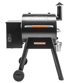 Traeger Grills TFB38TOD Renegade Pro Pellet Grill and Smoke 380 Sq. in. Cooking Capacity, Black/ ...