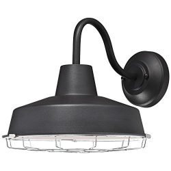 Westinghouse Lighting 6204700 Academy One-Light LED Outdoor Wall Fixture, Textured Black Finish  ...
