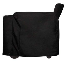 Mini Lustrous Cover for Traeger 34 Series Grills, Pellet Grill Cover Full Length Smoker Grill Co ...