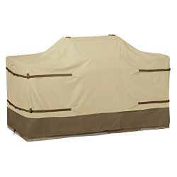 Classic Accessories Veranda Full Coverage Center Grill Island Cover, Medium