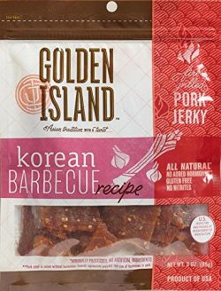 Golden Island Fire Grilled Pork Jerky Korean Barbecue Receipe – 16 Oz