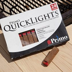 Primo 609 Quick Lights Fire Starters, 24-Pieces per box