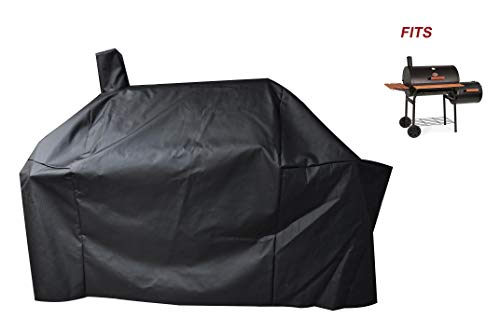 a1COVER Smoker Grill Cover Sized for Char-Griller Charcoal Grill 2190 and 2197 Heavy Duty Waterp ...