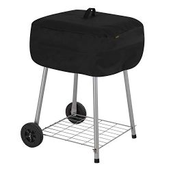 Modern Leisure 2974 Chalet Walk-A-Bout Charcoal Grill Cover (21.5 L x 21.5 D x 14.5 H inches) Wa ...