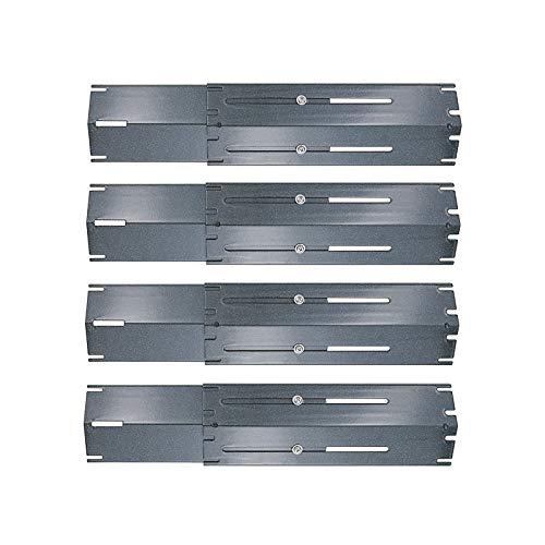 Uniflasy Universal Adjustable Porcelain Steel Heat Plate Shield, Heat Tent, Flavorizer Bar, Burn ...