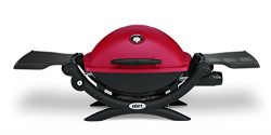 Weber 51040001 Q1200 Liquid Propane Grill, Red