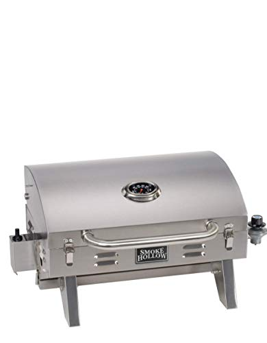 Masterbuilt Smoke Hollow PT300B Propane Tabletop Grill, (Newer Version)