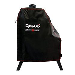 Dyna-Glo DG1176CSC Premium Vertical Offset Charcoal Smoker Grill Cover, Black