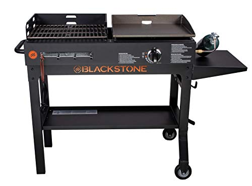 HOLY Blackstone Duo Griddle & Charcoal Grill Combo