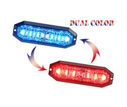 Unicorn Lighting UT01 Surface Mount Warning Emergency Strobe Grille Light Head [SAE class 1] [Du ...