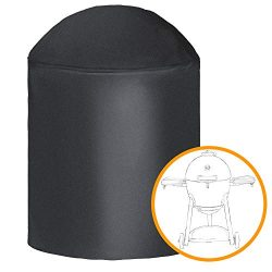 i COVER Round Grill Cover-39(Dia) x41(Tall) Water Proof Heavy Duty Outdoor Canvas BBQ Grill Cove ...