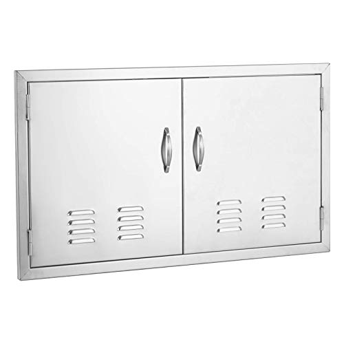 Nurxiovo 36×21 in Access Door Stainless Steel Flush Mount Double Wall Construction with Air ...