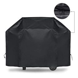iCOVER Gas Grill Cover 55 Inch Heavy Duty Waterproof Barbecue Grill Covers UV Fade Resistant Mes ...