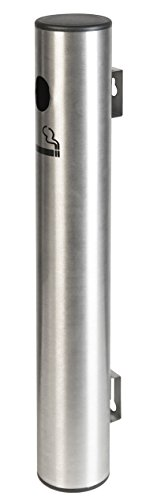 American Metalcraft SPSSWM2 Wall-Mounted Smoker Pole, Brushed Stainless Steel