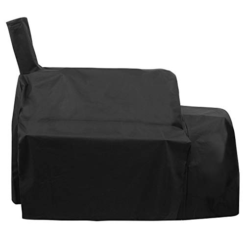 Unicook Heavy Duty Waterproof Grill Cover for Oklahoma Joe's Highland Smoker, Charcoal Off ...