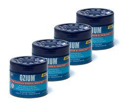 Ozium Oziu Regular Smoke & Odors Eliminator Gel. Home, Office and Car Air Freshener 4.5oz (1 ...