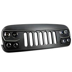 ORACLE Lighting VECTOR Series Full LED Grill – LED Enhancement for Jeep Wrangler JK Grill  ...
