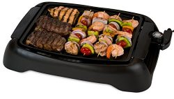Smart Planet SIG-1 Indoor Smokeless BBQ Grill, Black