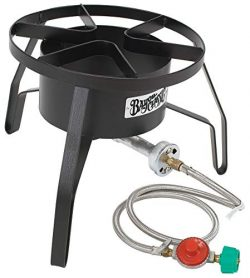 Bayou Classic SP10 High-Pressure Outdoor Gas Cooker, Propane (Renewed)