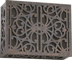 Quorum 7-115-044 Lighting Accessory Toasted Sienna Chime Grill (Renewed)