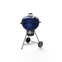 Weber 14516001 Master-Touch Charcoal Grill, Deep Ocean Blue